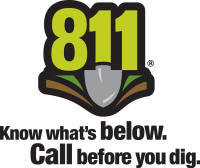 Click on Logo to visit www.Call811.com