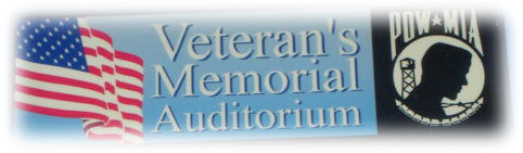Veteran's Memorial Auditorium Sign, 12th Street & Mockingbird Drive, Harlan, Iowa
